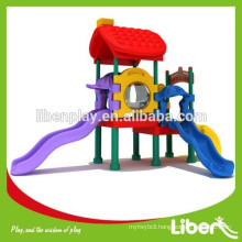 2015 new kids plastic outdoor playground for sale